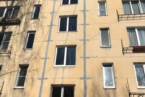 Ремонт панельных домов фасадов