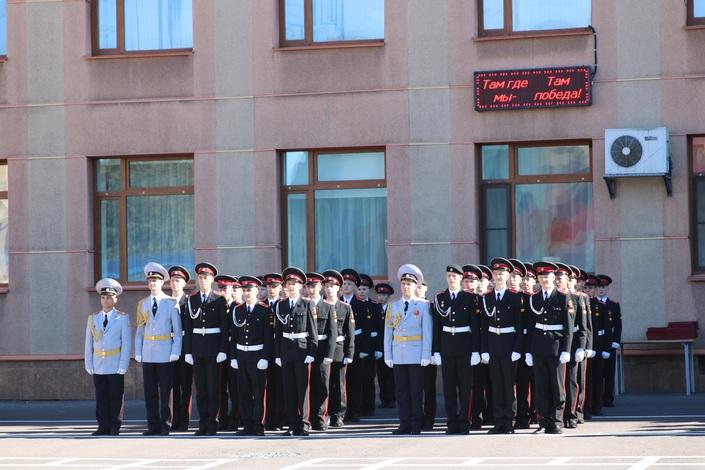 Поздравление курсантам училища 95